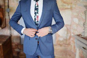 חליפות חתן כחולות